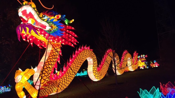 CBUS Dads blogger Mike Liddy checked out the Ohio Chinese Lantern Festival with his kids