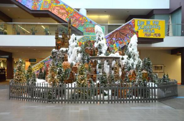 After checking out the Huntington Holiday Train Exhibit at the Main Library, CBUS Dads blogger Steve Swift and his family witnessed something that proved to be a valuable lesson to his children.