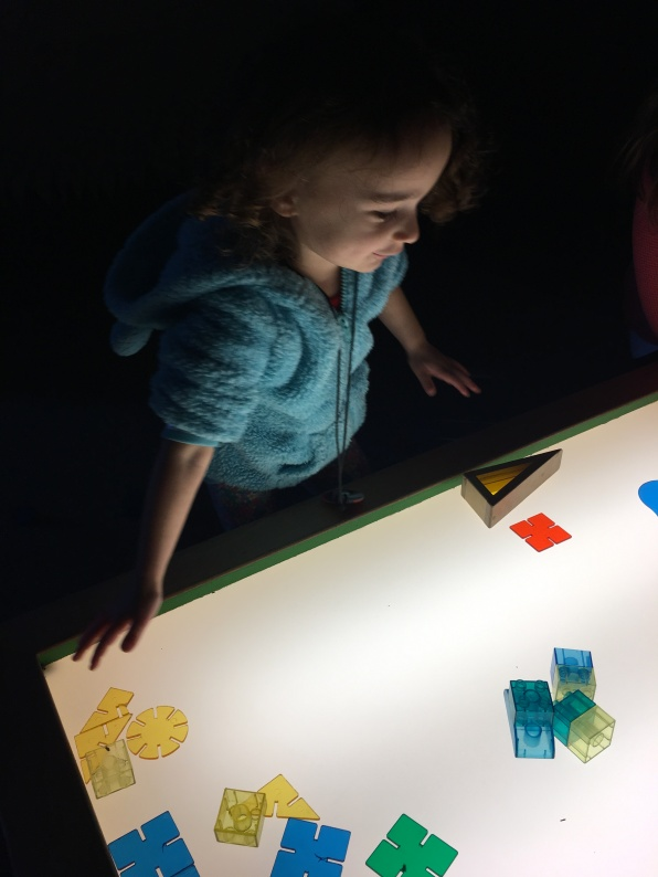 COSI Kidspace: shapes and colors
