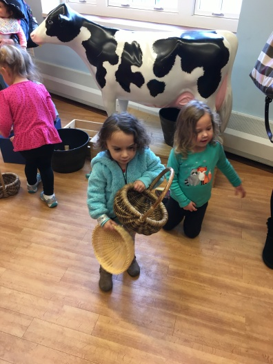 COSI Kidspace: learning about farming