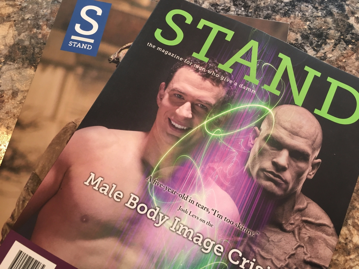 Stand Magazine reviewed by dad blogger Steve Michalovich
