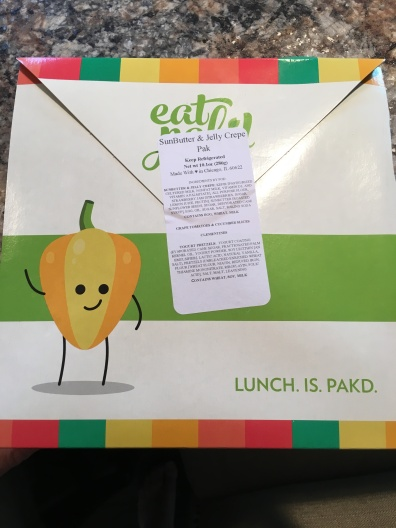 Unopened Pak from Eat Pak'd