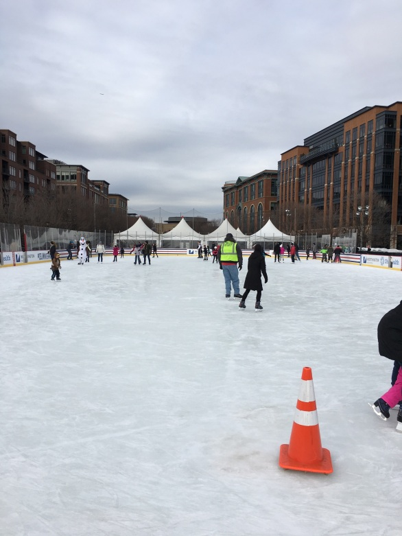 The Columbus Blue Jackets outdoor Winter Park