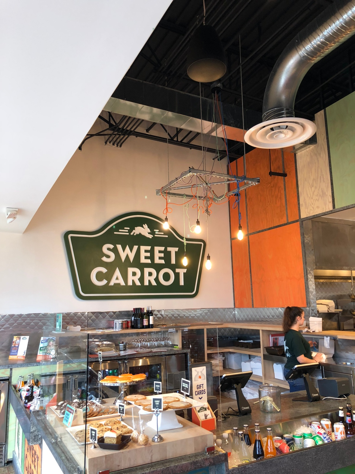 The Sweet Carrot Counter at the Westerville Location
